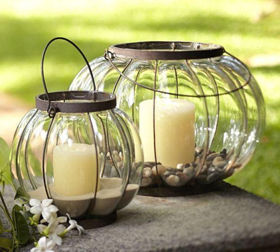 фенери и лампи от Pottery Barn