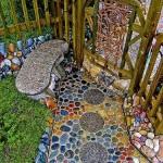 идеи за мозайка в градината (2)