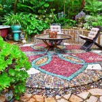 идеи за мозайка в градината (3)