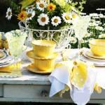летни декорации за маса