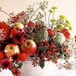 Аранжиране на цветя за Коледа