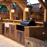 Външна кухня и барбекю