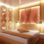 Красиви декорации в спалнята