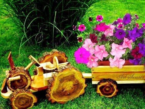 Артистични декорации за двор и градина