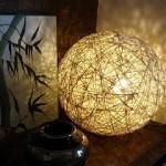 Лампа от канап или дантела