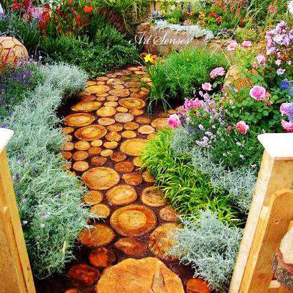 Градински алеи и пътеки