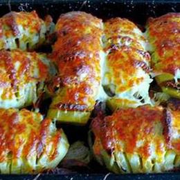 Рецепта с картофи и колбас