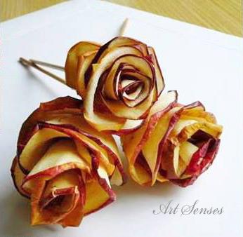 Розички от сушена ябълка