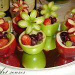 Плодове в ябълка