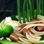 Спагети с кренвирш