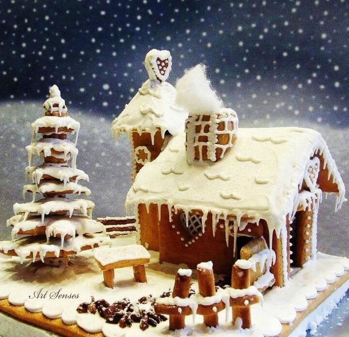 """Торта """"Зимна приказка"""""""