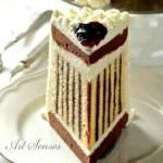 Торта с маслен крем и мармалад