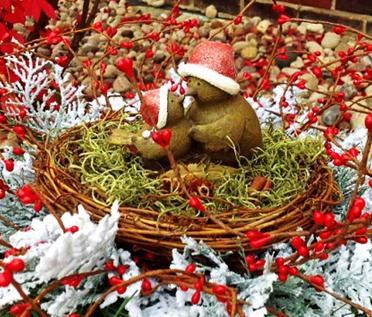 Коледно гнездо