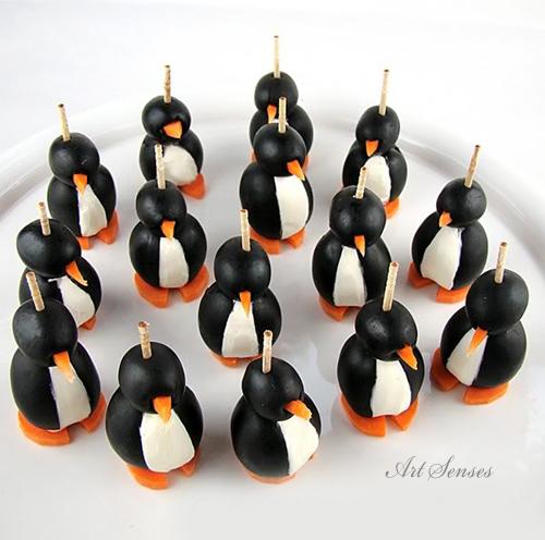 Пингвини от маслини