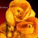 Рози от пържени хапки