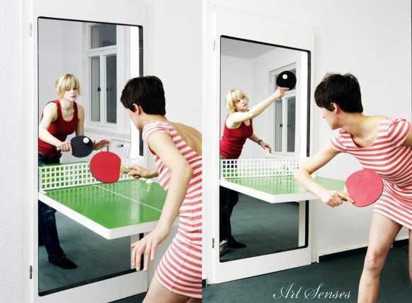 Врата за тенис на маса