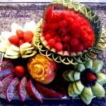 Карвинг - изкуство върху храна (10)