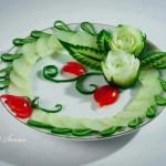 Карвинг - изкуство върху храна (2)