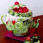 Карвинг - изкуство върху храна (8)