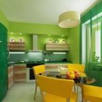 Кухня в зелено (11)
