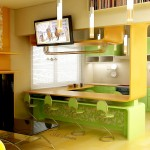 Кухня в зелено (14)