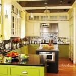 Кухня в зелено (15)