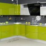Кухня в зелено (2)