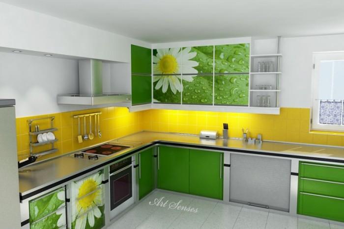 Кухня в зелено (3)