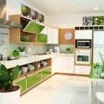 Кухня в зелено (4)