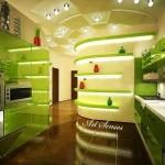 Кухня в зелено (5)