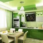 Кухня в зелено (6)
