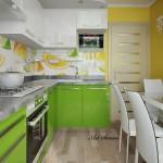 Кухня в зелено (7)