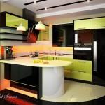 Кухня в зелено (8)