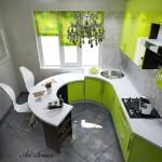 Кухня в зелено (9)