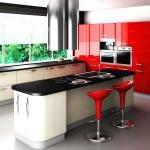 кухня с панорамни прозорци