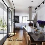 кухня с панорамни прозорци (9)