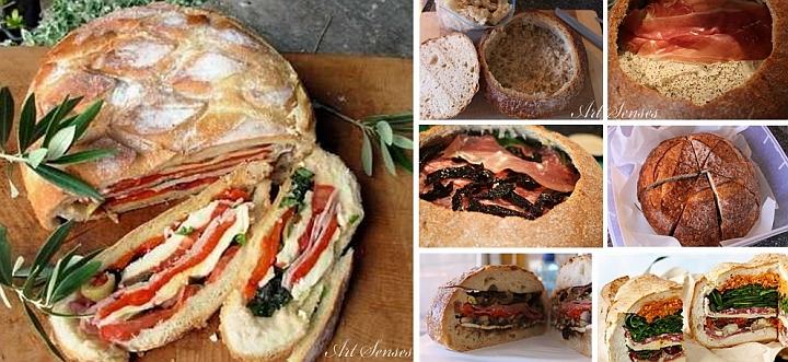 Пълнен хляб или питка