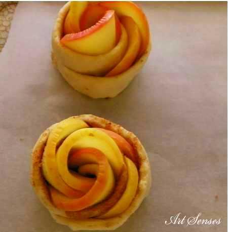 Роза от ябълки