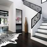 интериор в черно и бяло