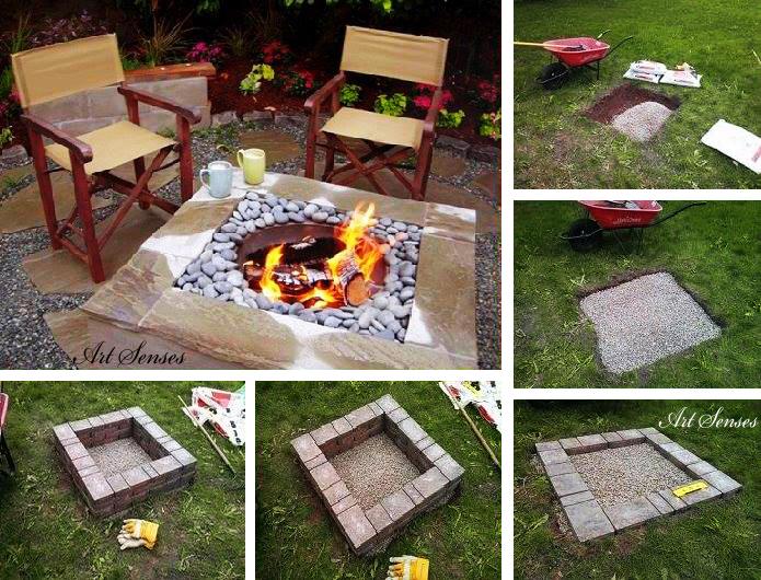Изграждане на огнище