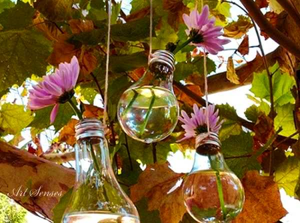 Декоративна вазичка от крушка