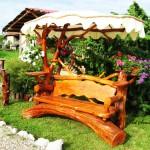 Градински пейки и люлки
