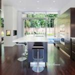 Впечатляващи дизайни за кухня 111