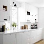 Модерна кухня в бяло (11)