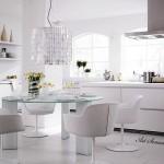 Модерна кухня в бяло (14)
