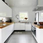 Модерна кухня в бяло (16)