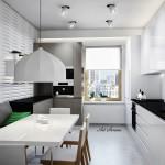 Модерна кухня в бяло (18)
