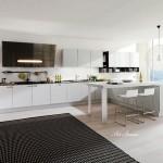 Модерна кухня в бяло (19)