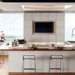Модерна кухня в бяло (4)