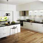 Модерна кухня в бяло (5)